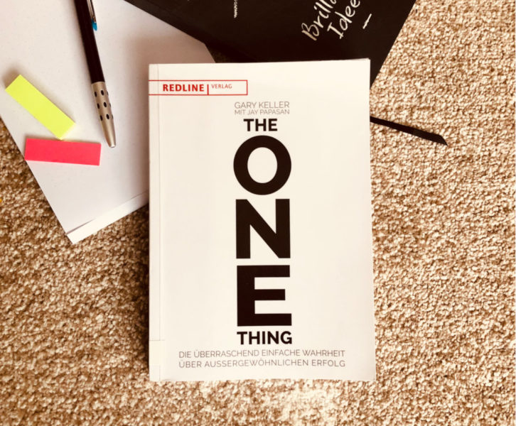 Das Buch The One Thing von Gary Keller